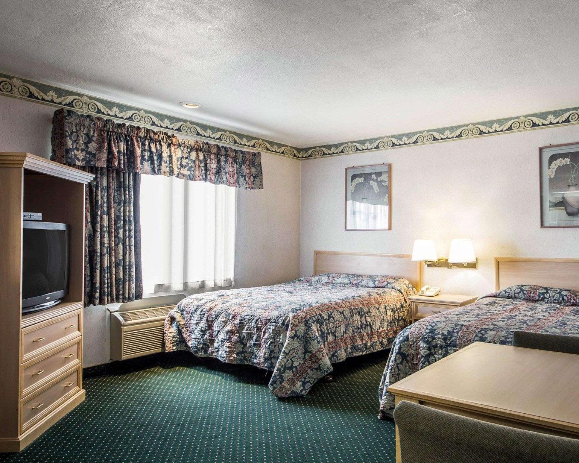 2 Queen Beds, No Smoking
