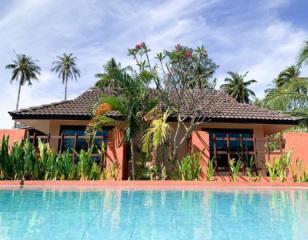 兰卡威椰子海滩别墅