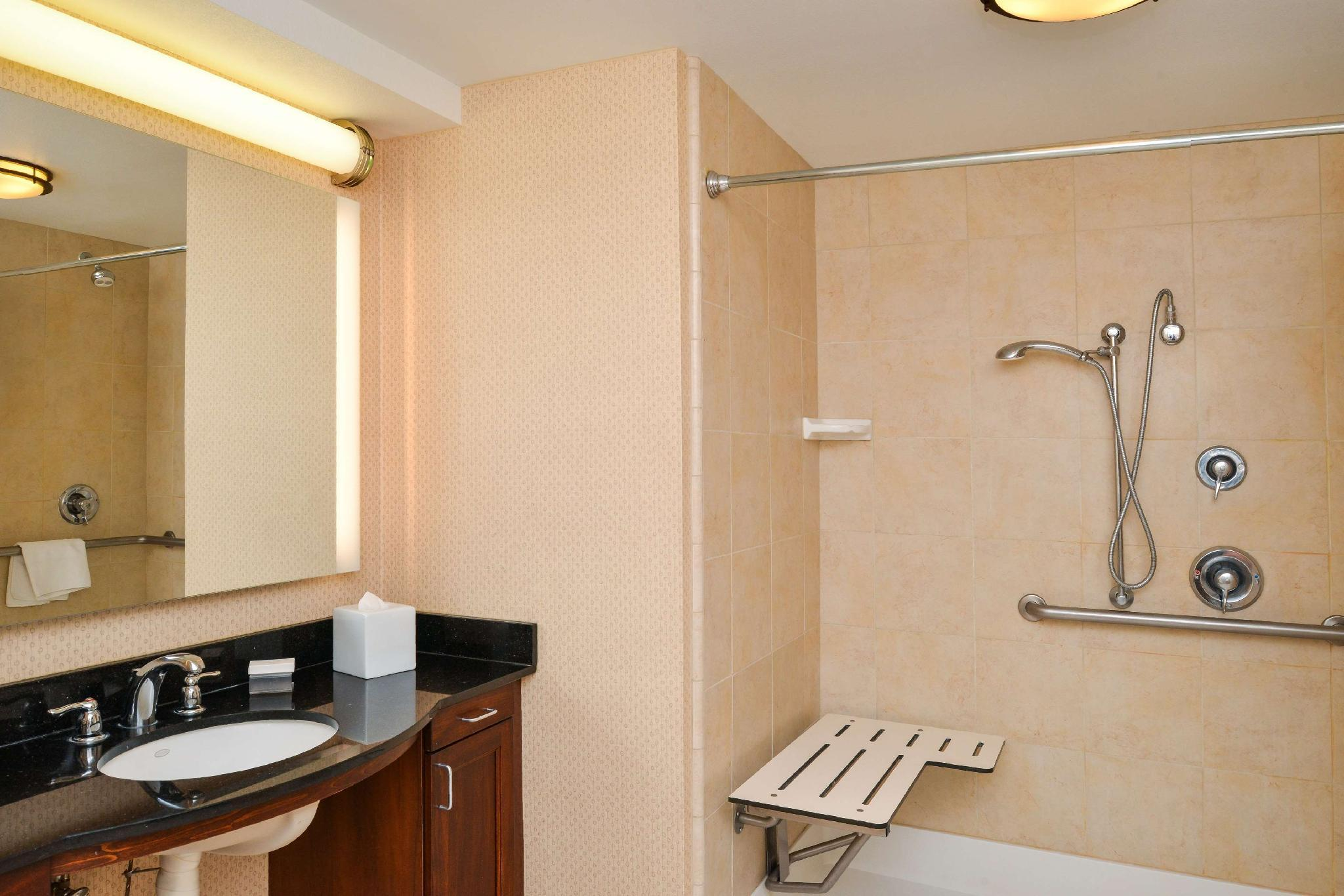 1 King Mobility Hearing Accessible Roll in Shower Studio