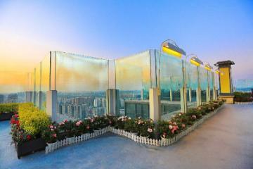 ChengDu 近 春熙 路 太古 里 • 轻 奢 度假 房 • 高空 露天 花园 基地 • 智能 音箱 • - 临近 二环 路 3 号