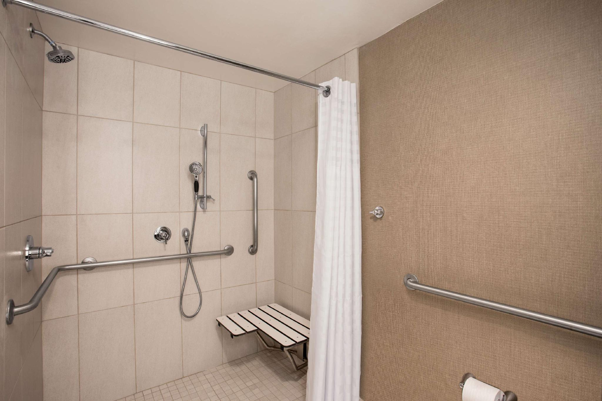 1 King Junior Suite Accessible Roll In Shower Non-Smoking