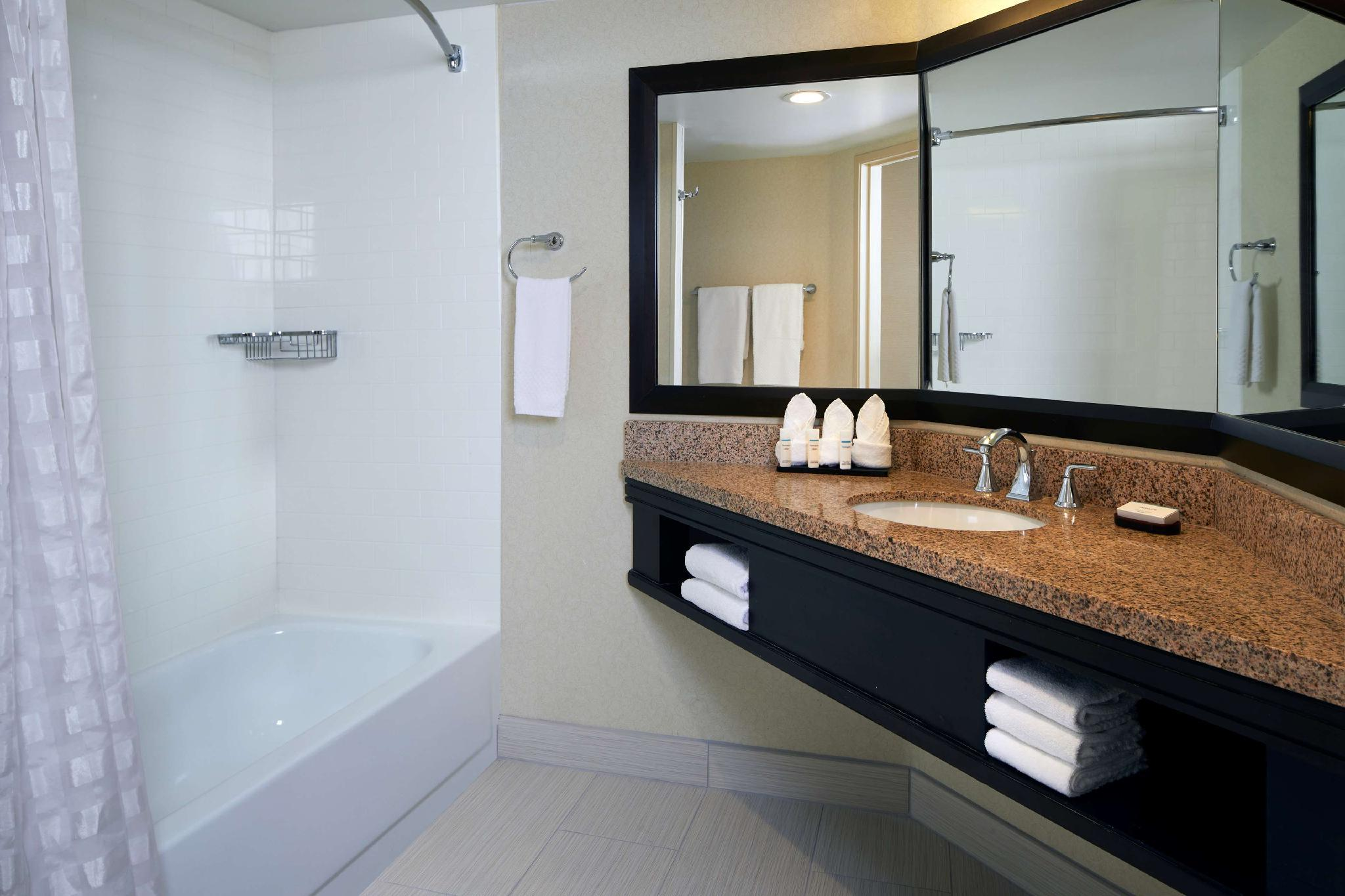 1 King Suite Mobility Hearing Accessible Tub Non-Smoking