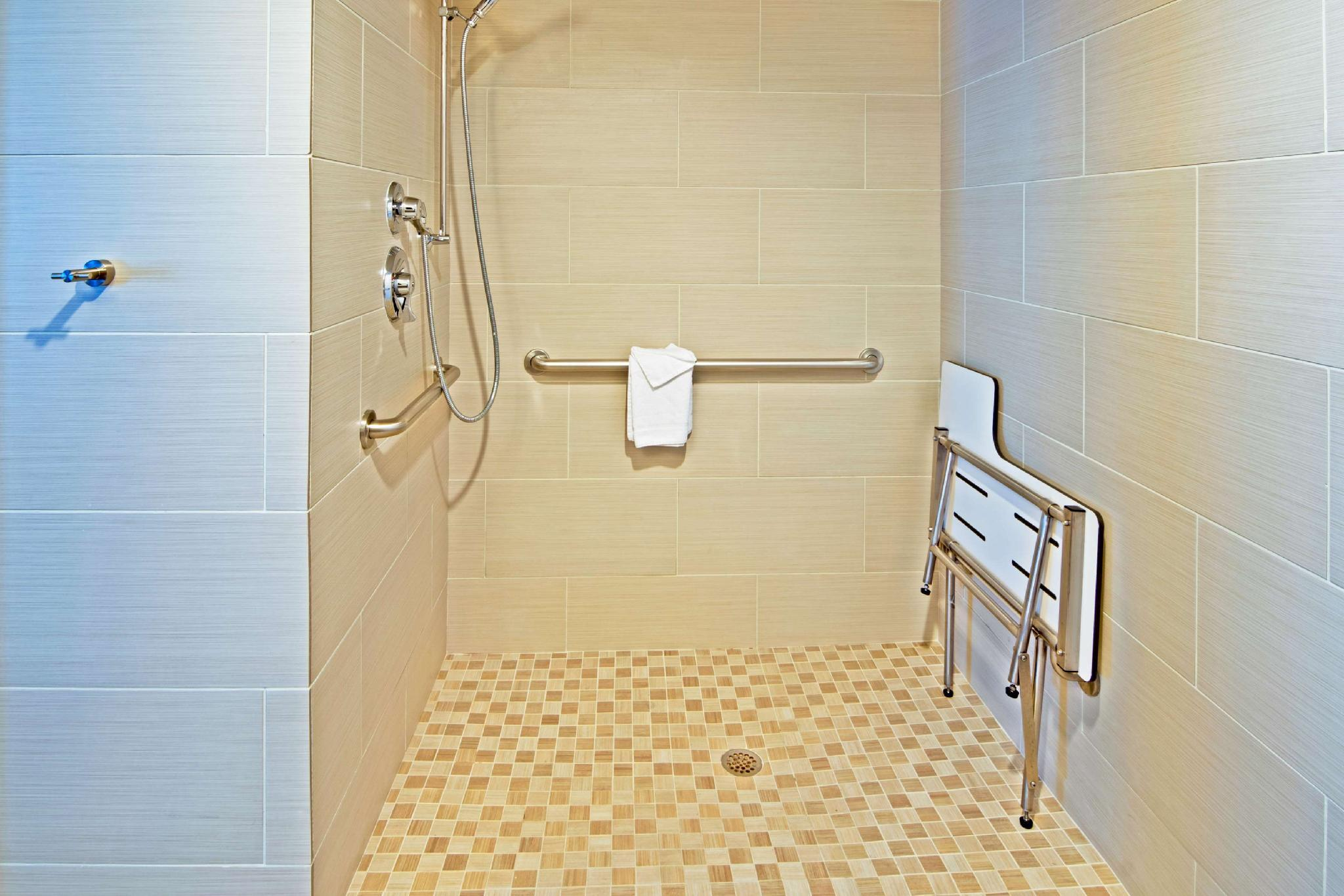 1 King Mobility Hearing Accessible Roll In Shower Studio Non-Smoking