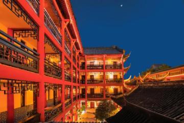 Chengdu Dreams Travel Wenjun Courtyard Hotel Cabang Gang Kuanzhai