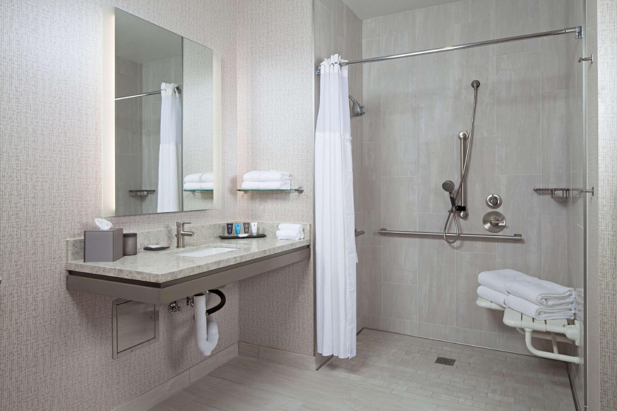 Deluxe 2 Queen Accessible Roll in Shower