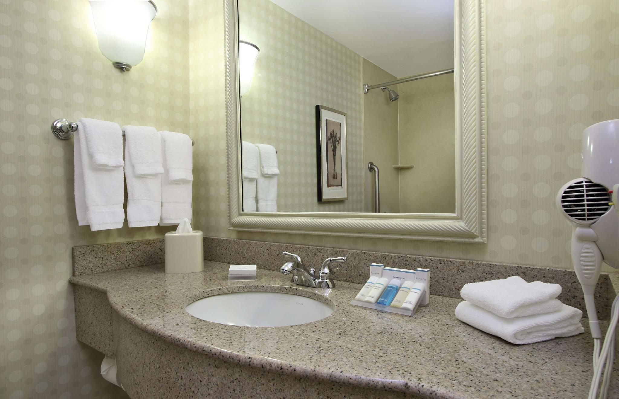 2 Queen Mobility Hearing Accessible Studio with Tub