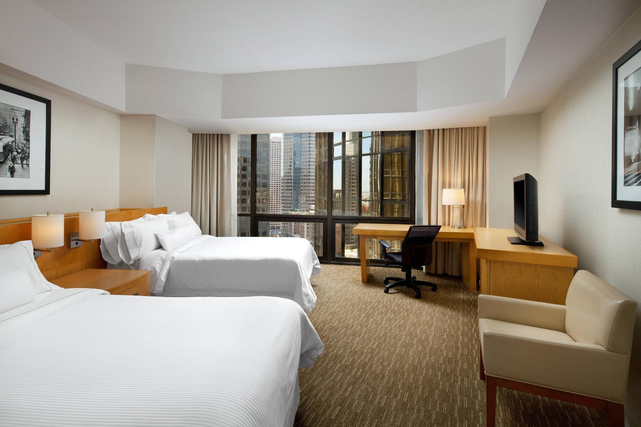 Guest room, 2 Double, City view