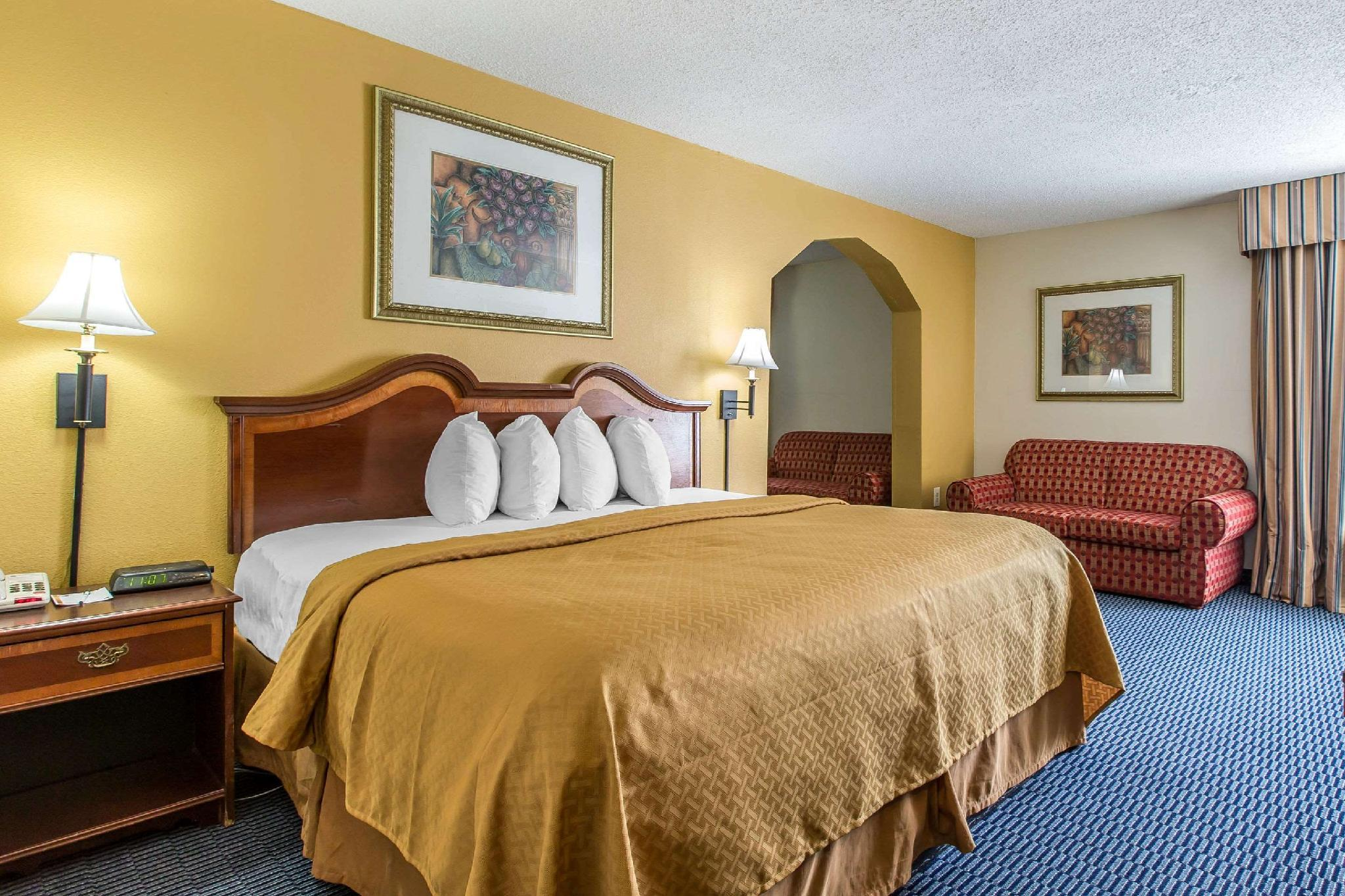 1 King Bed, One-Bedroom, Suite, Non-Smoking