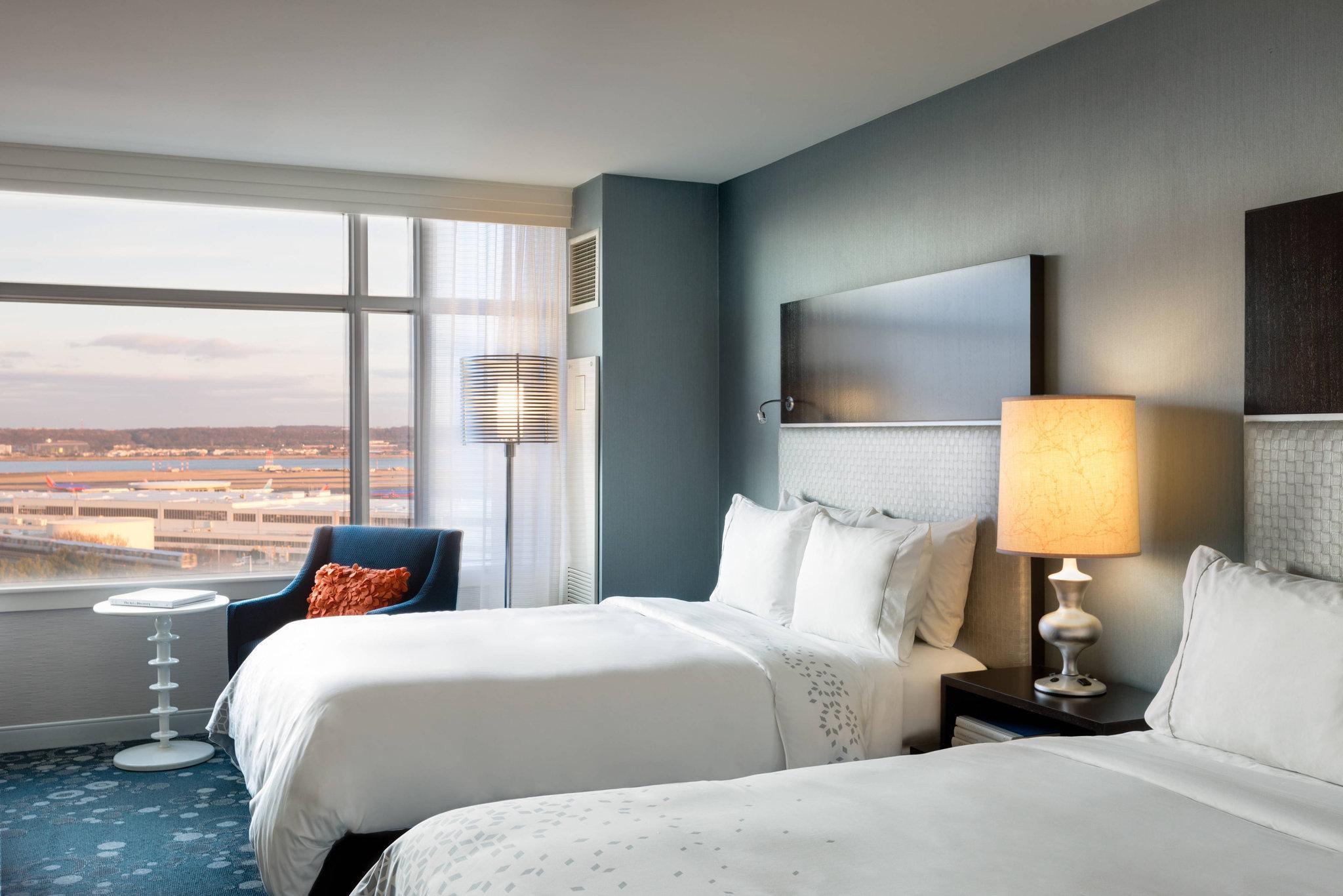 Concierge level, Guest room, 2 Double, City view