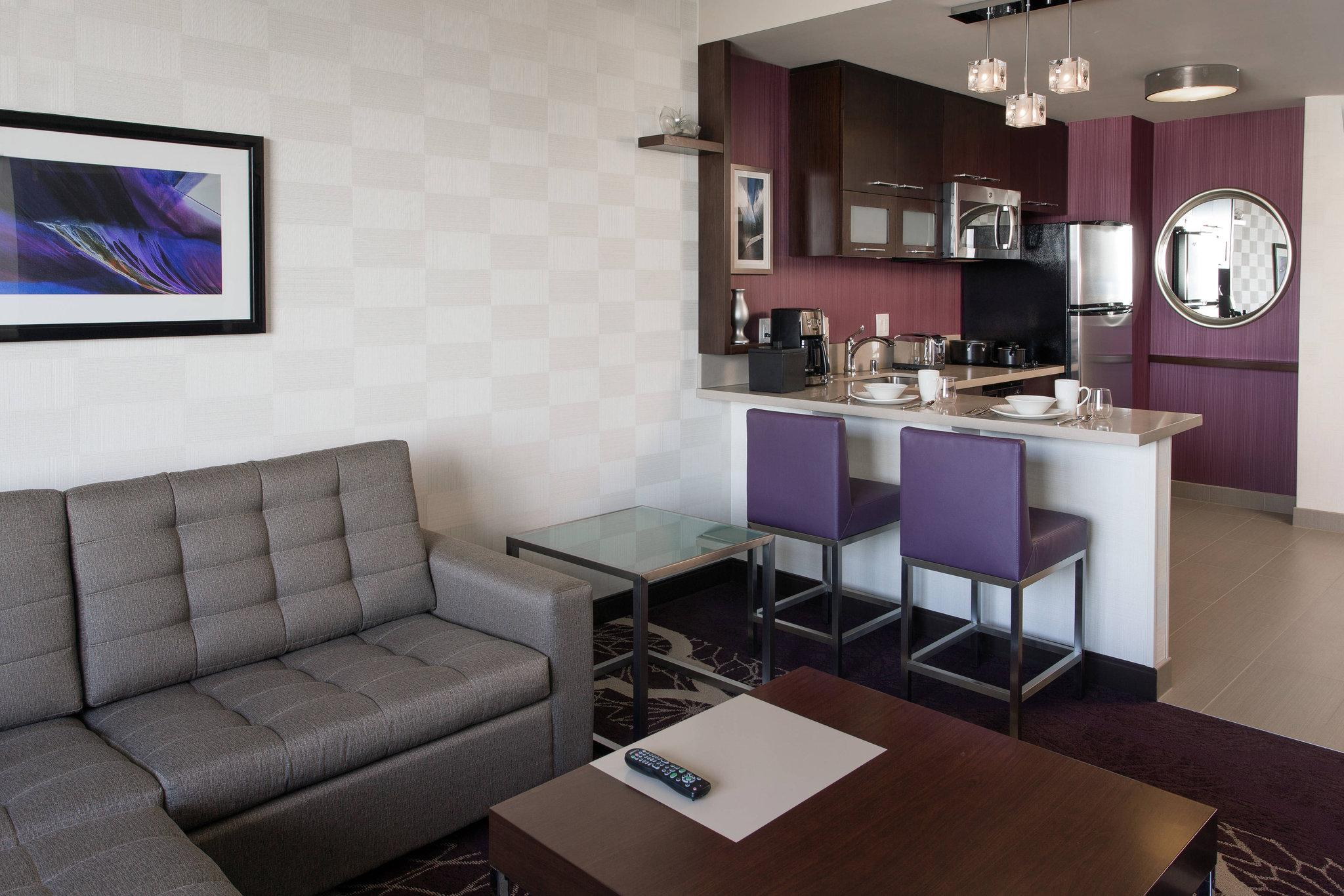 1 Bedroom Larger Suite, 1 King, Sofa bed