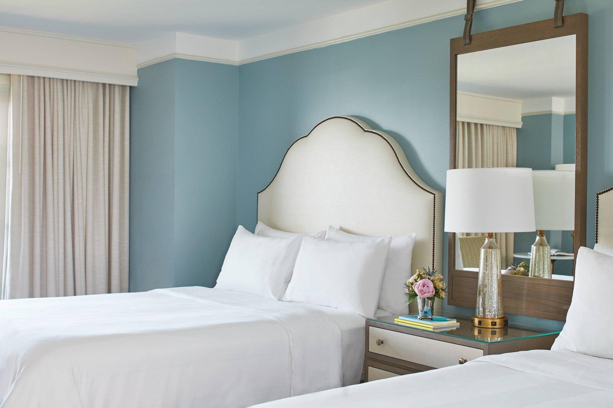 Larger Guest room, 2 Queen, Resort view, Spa Building