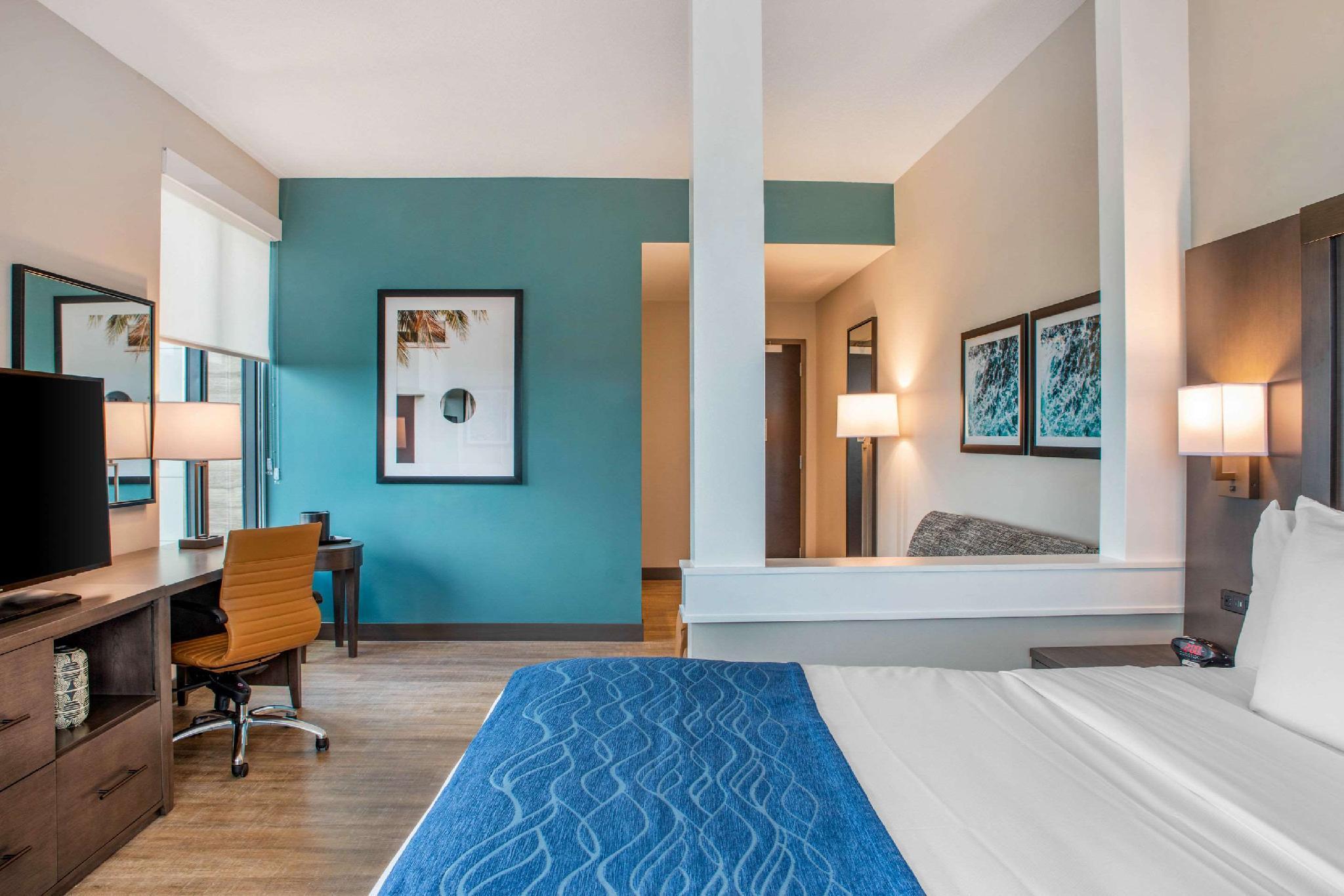 1 King Bed, Suite, Nonsmoking