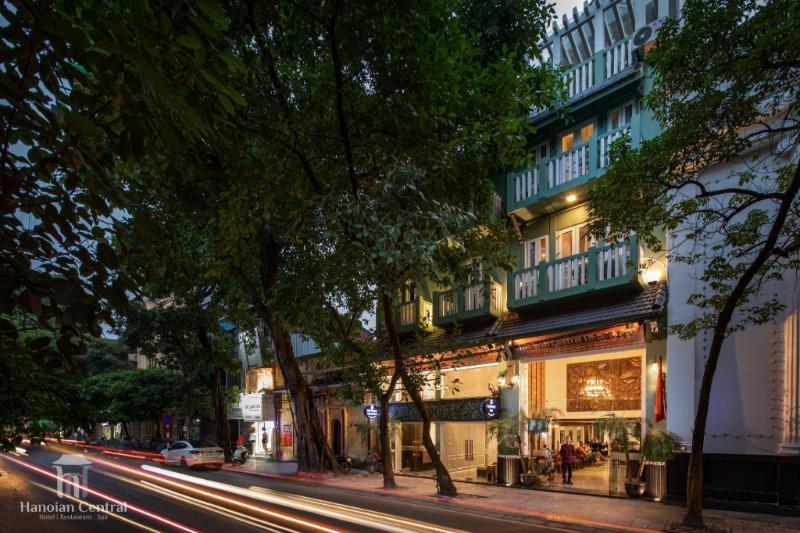 Khách Sạn & Spa Hanoian Central