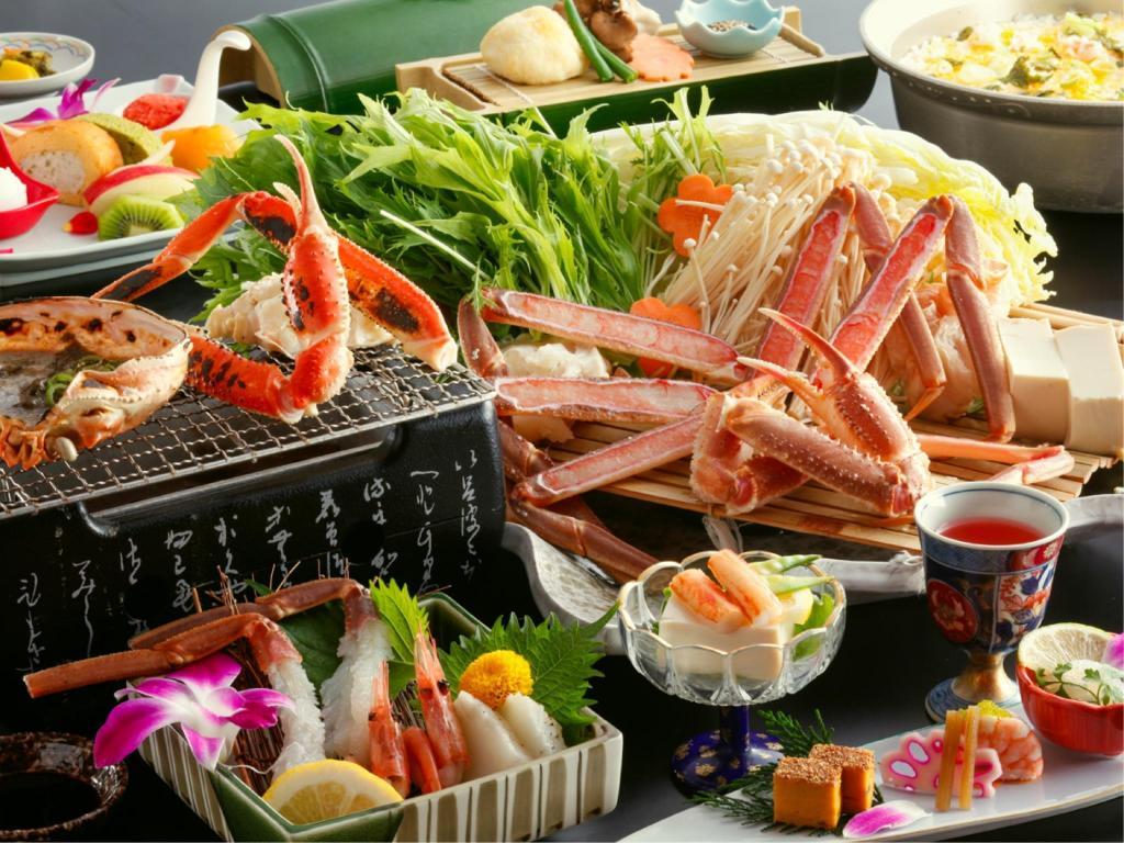 松葉ガニ料理おすすめの宿2