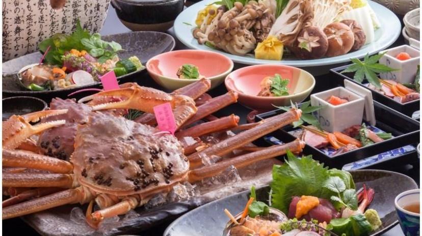 柴山ガニ料理おすすめの宿1