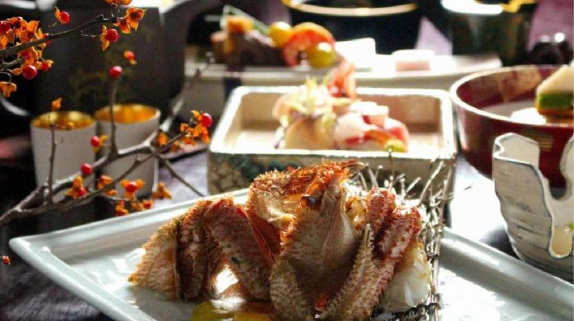 毛蟹料理おすすめの宿2